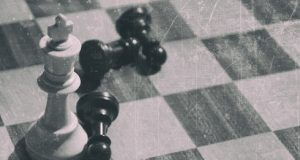 chess in antique style