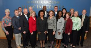 The North Carolina Judicial Council met for the first time in five years on Dec. 5. (North Carolina Administrative Office of the Courts photo)